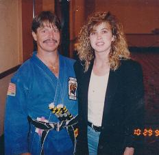 Master Bill Jones and Kathy Long